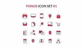 Ponos Icons Set