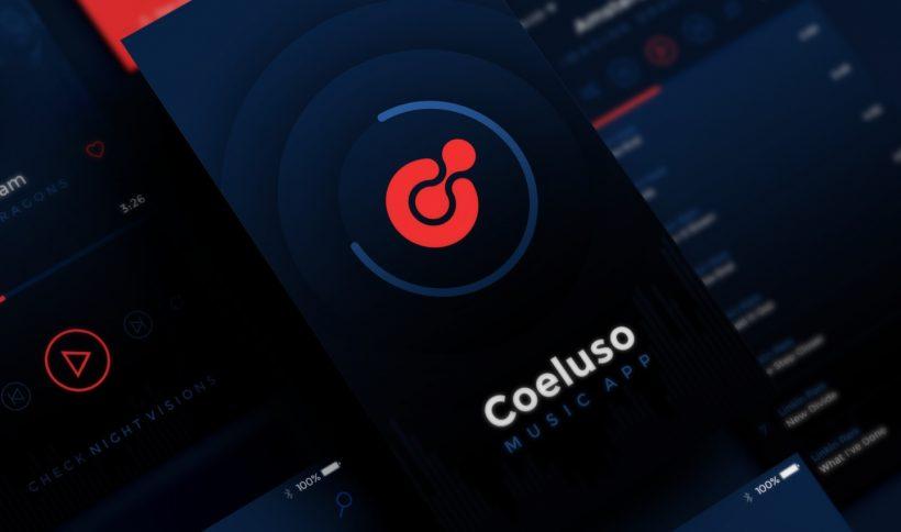 Coeluso Mobile App PSD