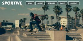 sports-focused-flat-html-template