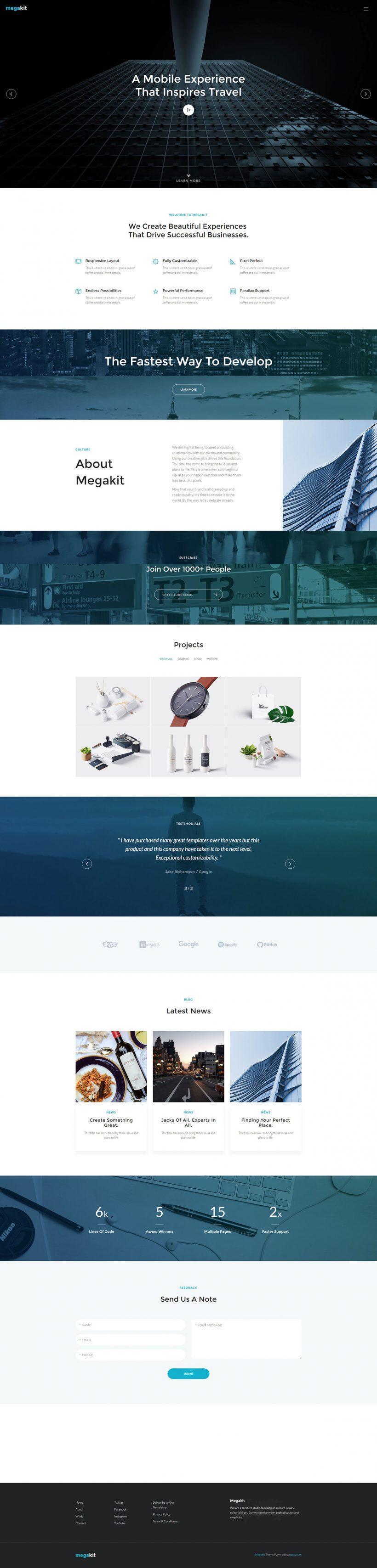 megakit-html5-theme