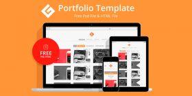 html-portfolio-template