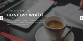 creative-portfolio-bootstrap-template