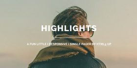 responsive-single-page-html5-template