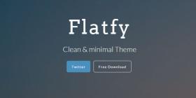 flatfy-minimal-html-template