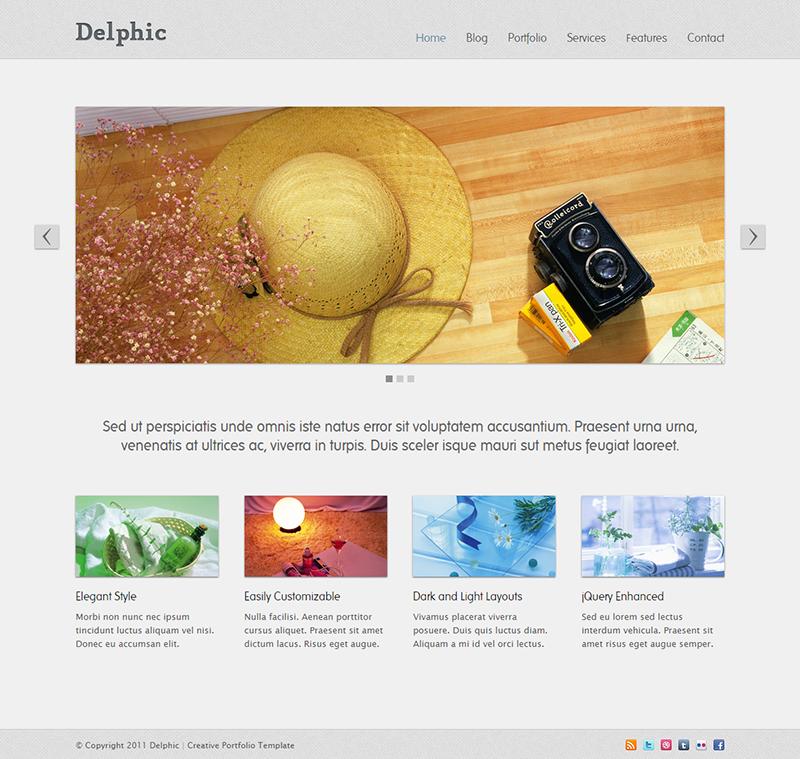 delphic-creative-portfolio-template