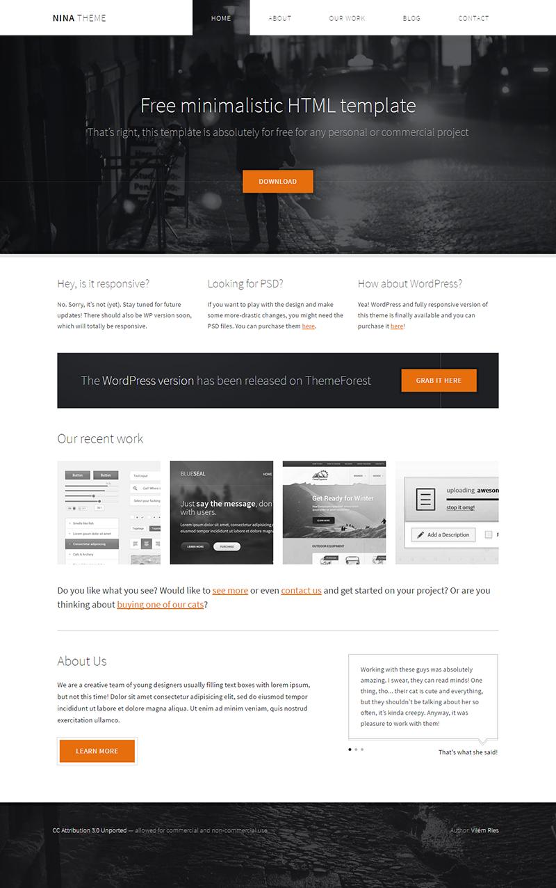 nina-theme-free-html-theme