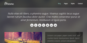 obscura-free-responsive-html-template