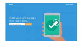 html-app-landing-page