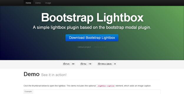 Bootstrap-Lightbox